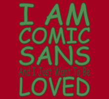 Every time you use Comic Sans, a bunny gets punched in the face. Apparently.